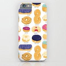 Donut Identification iPhone 6 Slim Case