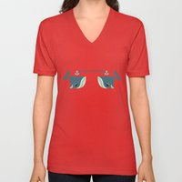 Be Nice To Whales Unisex V-Neck