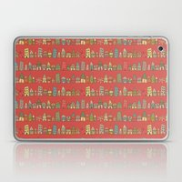 City {Housylands - red} Laptop & iPad Skin