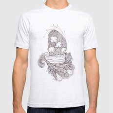 ship of fools Mens Fitted Tee Ash Grey SMALL
