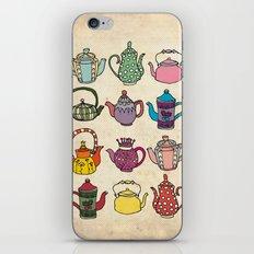 Teapots iPhone & iPod Skin
