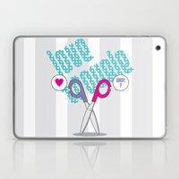 LOVE TROUBLE Laptop & iPad Skin