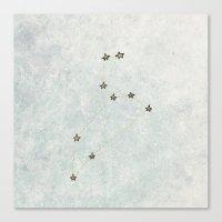 Leo X Astrology X Star S… Canvas Print