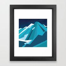 Night Mountains No. 26 Framed Art Print
