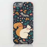 Merry Little Squirrel  iPhone 6 Slim Case