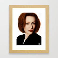 Scully Framed Art Print
