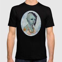 A Little Mermaid Mens Fitted Tee Black SMALL