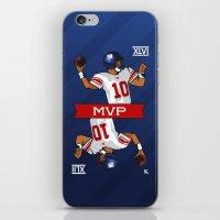 Eli - the SuperBowl MVP iPhone & iPod Skin