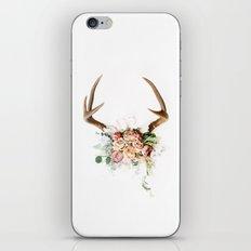 Floral Antlers V iPhone & iPod Skin