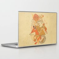 Laptop & iPad Skin featuring Nature's Embrace by The Child