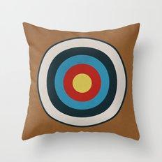 Vintage Target Throw Pillow