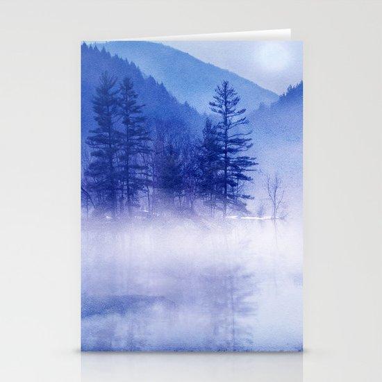 mystic sunrise II Stationery Card