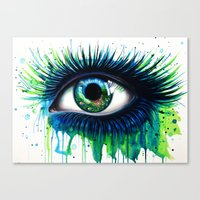 -The peacock- Canvas Print