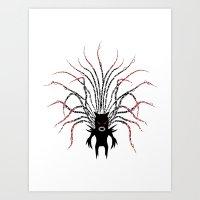 Karma Fairy [DARK] Art Print
