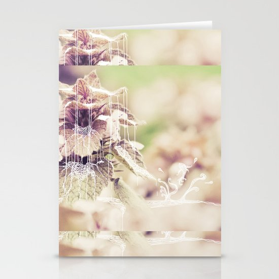 the fountain 2 Stationery Card