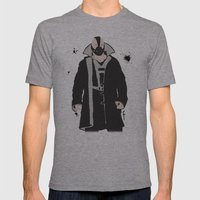 The Dark Knight: Bane Mens Fitted Tee Athletic Grey SMALL