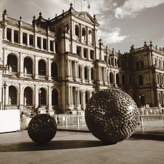 Balls of steel Art Print