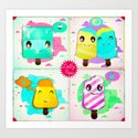 lolly pops Art Print