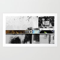 One Way Only Art Print