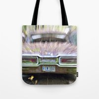 Thunderbird Lanes Tote Bag