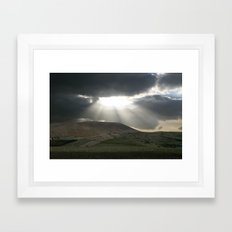 rays of goodness Framed Art Print