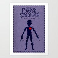 Edward Scissorhands (Alt… Art Print