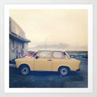 Wee Car Art Print