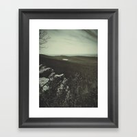 The Lake Framed Art Print