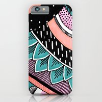 Pink & Coral Feather Pat… iPhone 6 Slim Case