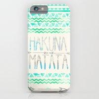 iPhone & iPod Case featuring Hakuna Matata by Sara Eshak