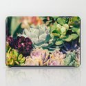 Cacti And Succulents I iPad Case
