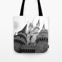 Disney Castle Tote Bag