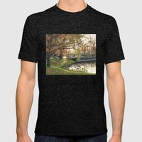 Charles River Esplanade … Mens Fitted Tee Tri-Black SMALL