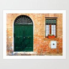 Door Series (3) Art Print