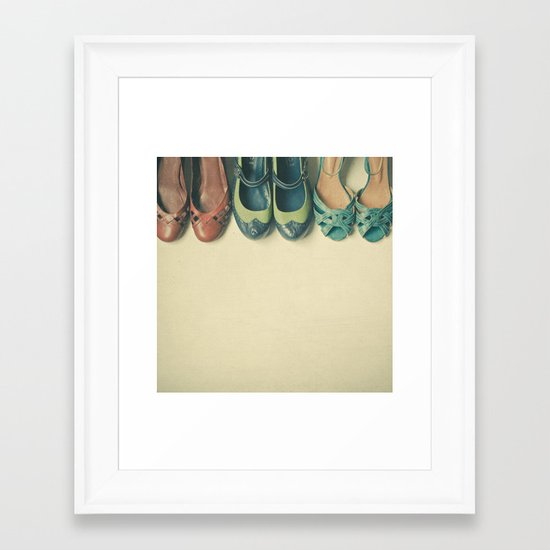 The Shoe Collection Framed Art Print