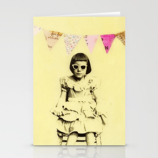 """Partially Amused"" Stationery Card"