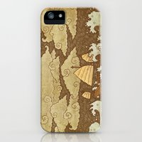 iPhone 5s & iPhone 5 Cases featuring Tempest  by Terry Fan