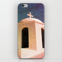 Greek Building Burnt iPhone & iPod Skin