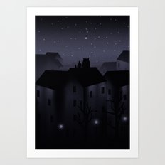 Northern Star Art Print