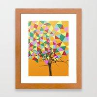 Treeangle Framed Art Print