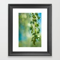 Take Only Pictures Framed Art Print