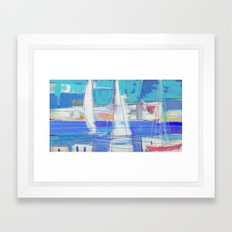 SAILS 1248  Framed Art Print