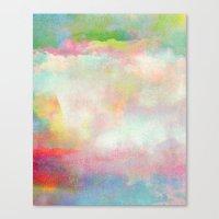 Untitled 20120222n (Cloudscape) Canvas Print