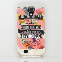 iPhone Cases featuring The Invincible Summer by Kavan and Co