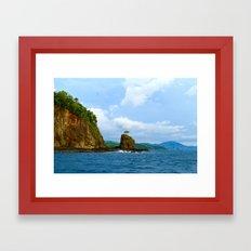 Playa Potrero Framed Art Print