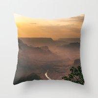 Grand Canyon - South Rim… Throw Pillow