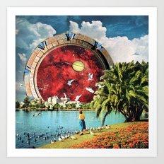 Stargate Installation Art Print