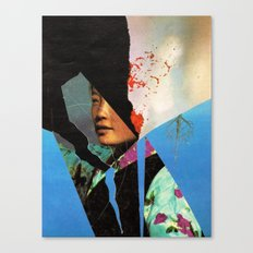 the schiphol girl... Canvas Print