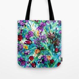Tote Bag - Floral Jungle - RIZA PEKER