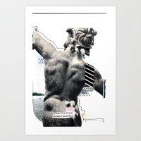 Petrification Art Print